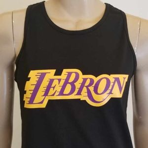 b334a0ec1f9 Shirts | New Lebron James La Lakers Tank Top Lbj Lebron | Poshmark